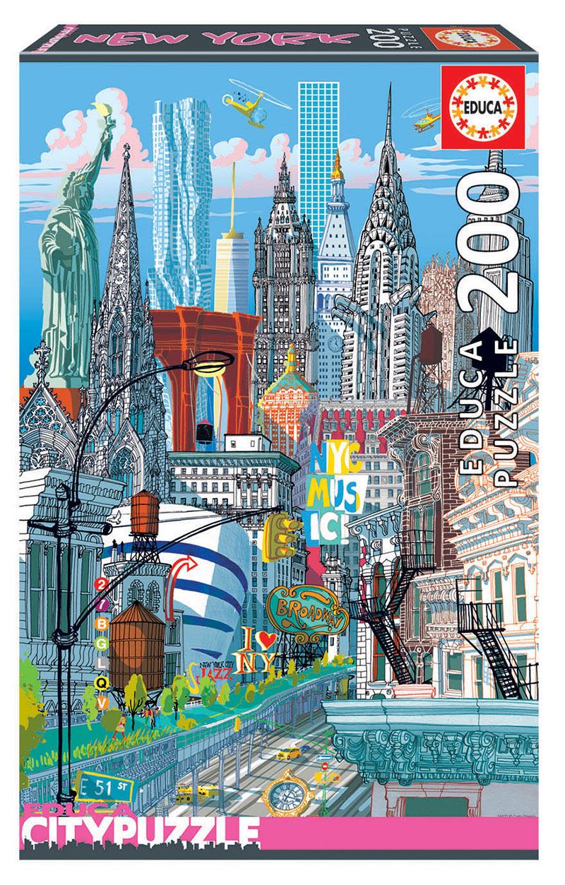200 New York ´Educa City Puzzle´
