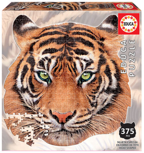 375 Tigre ´Animal Face Shaped Puzzle´
