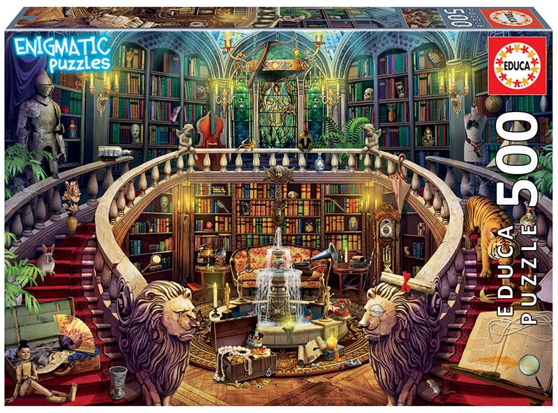 500 Antique Library ´Enigmatic Puzzle´