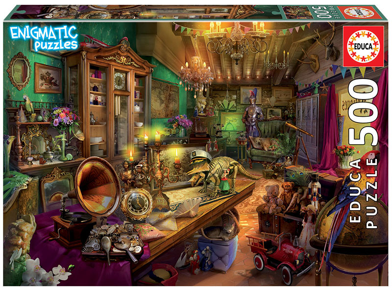 500 Antiquari ´Enigmatic Puzzle´