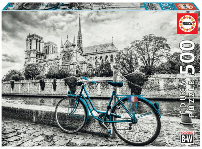 500 Bicicleta cerca de Notre Dame