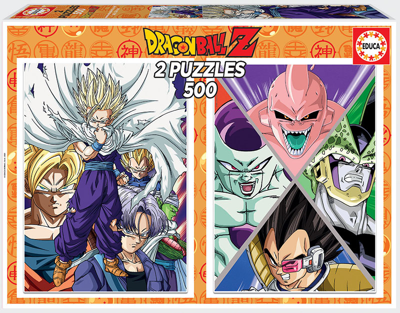2×500 Dragon Ball