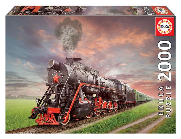 2000 Locomotora de vapor