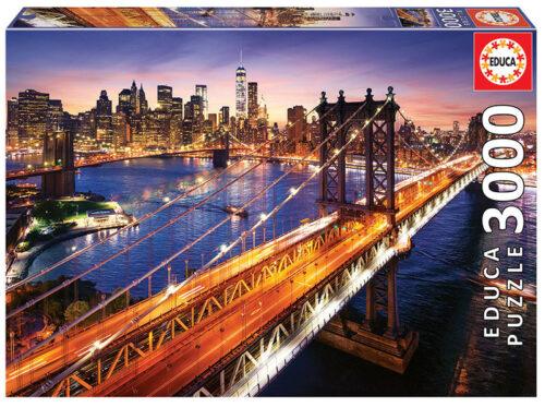 3000 Manhattan al atardecer