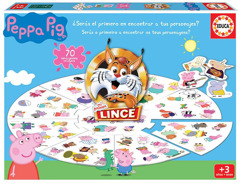Lince Peppa Pig