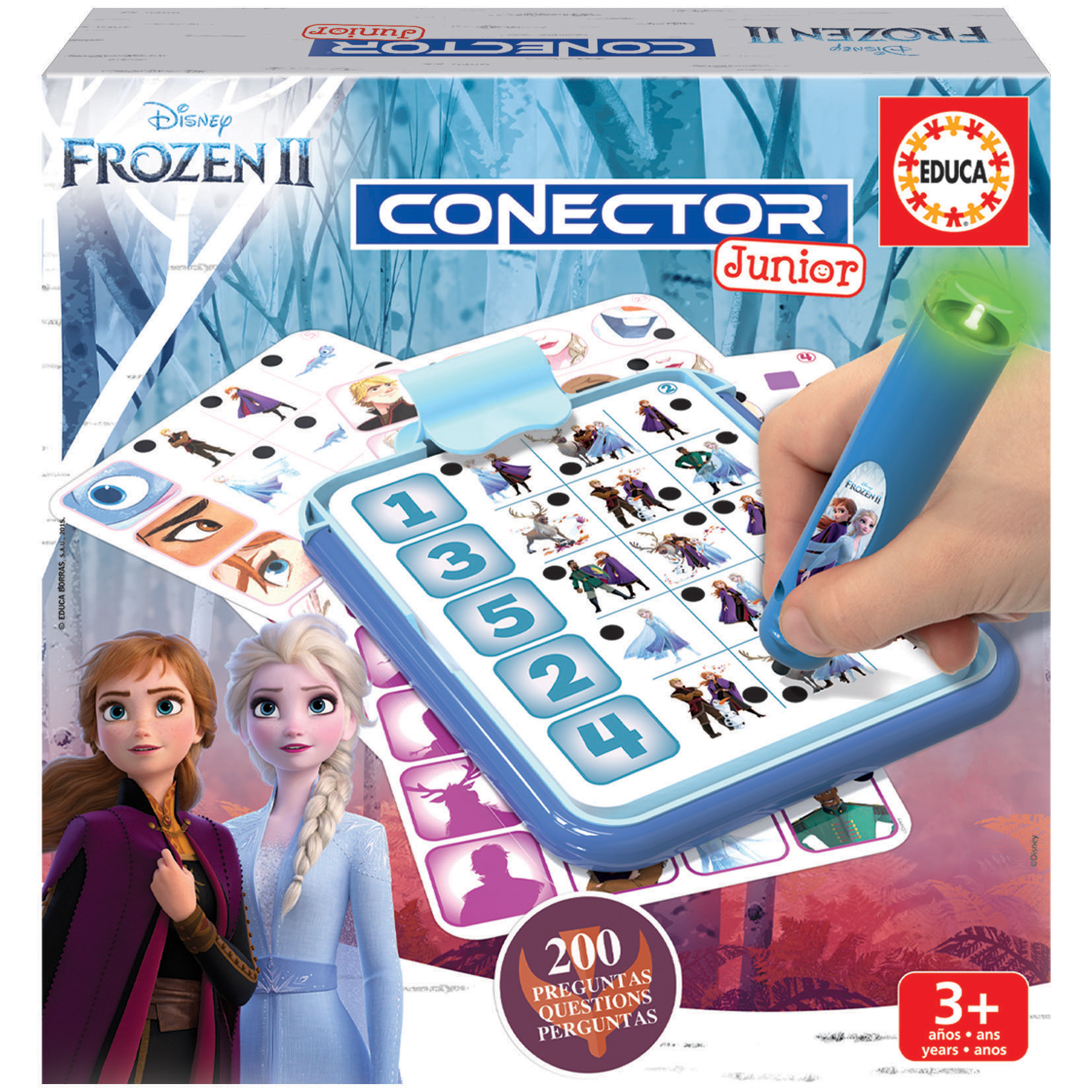 Conector Junior La Reine des Neiges 2