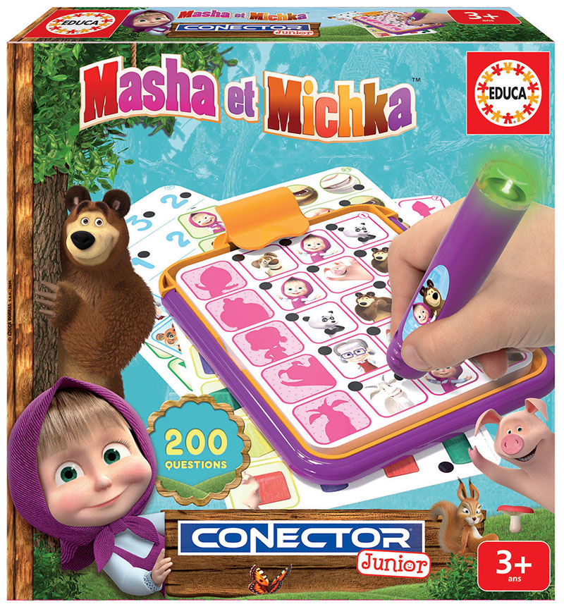 Conector Junior Masha et Michka