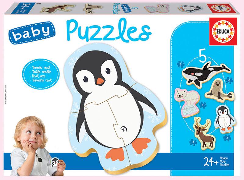 Baby Puzzles Animaux de la Banquise