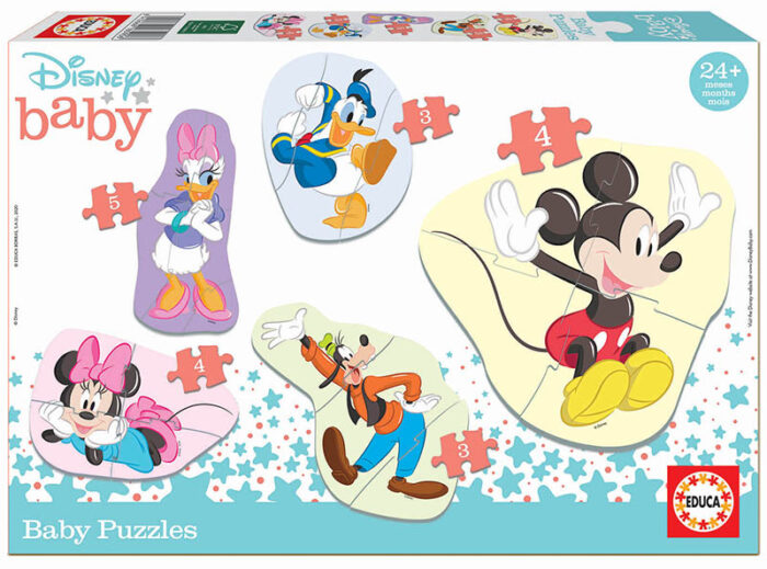 Baby Puzzles Mickey & Friends