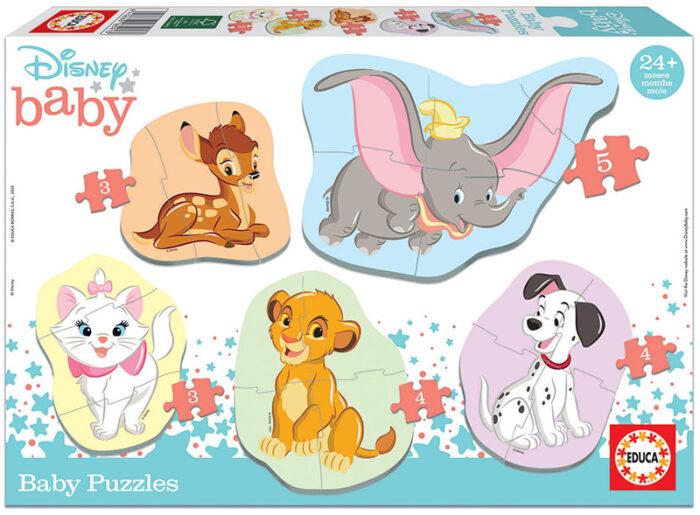 Baby Puzzles Disney Animals 2