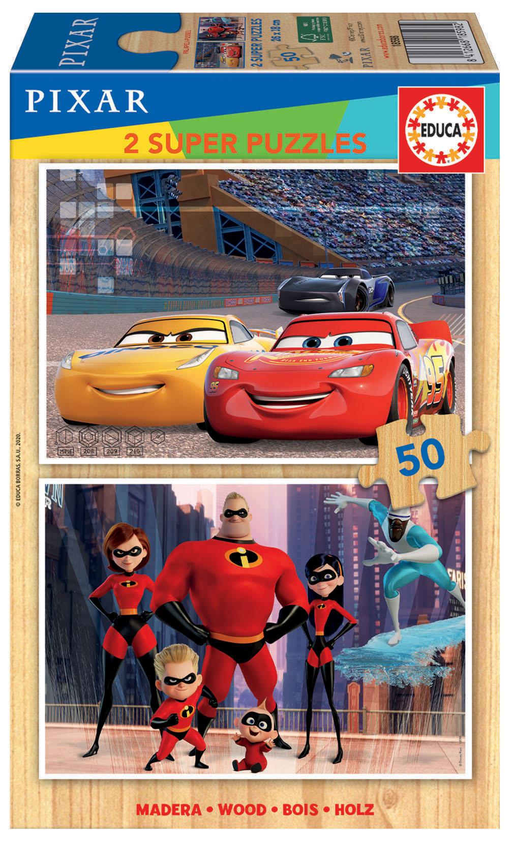2×50 Disney Pixar