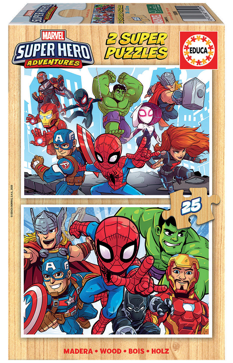 2×25 Marvel Super Heroe Adventures