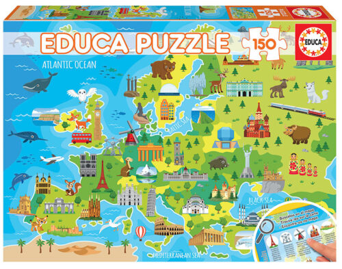 150 Mapa de Europa