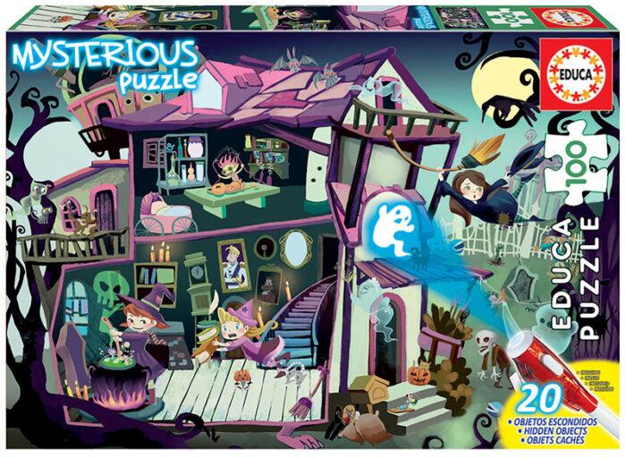 100 Mysterious Puzzle Casa Encantada