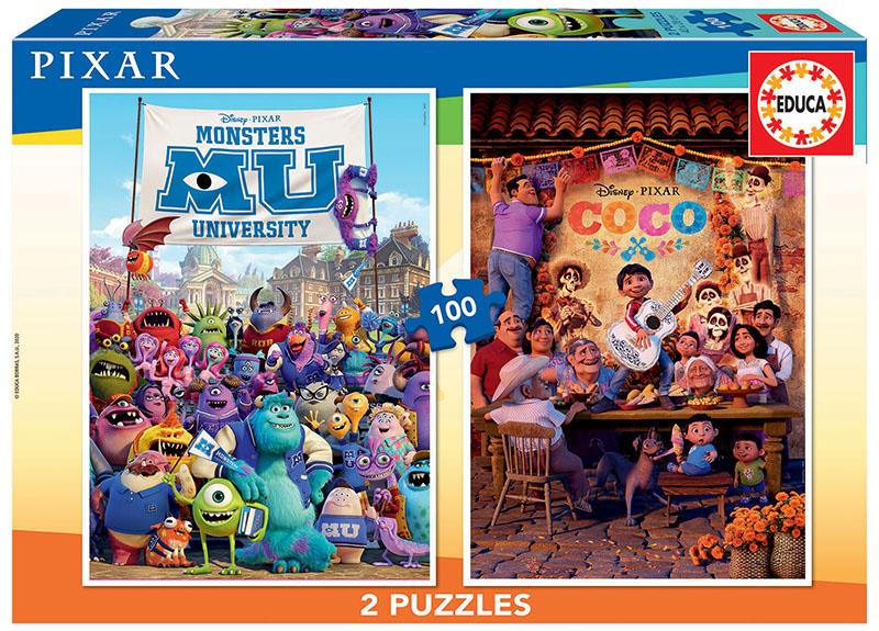 2×100 Disney Pixar