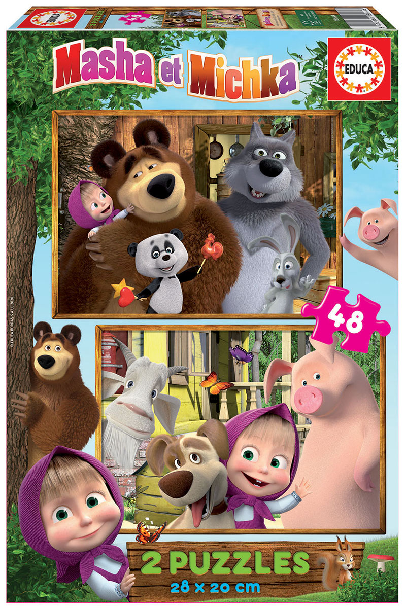 2×48 Masha and The Bear