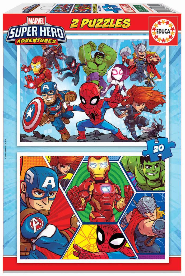 2x20 Marvel Super Heroe Adventures