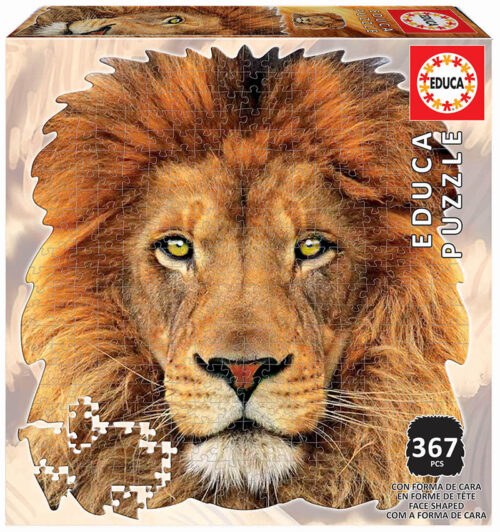 367 León ´Animal Face Shaped Puzzle´