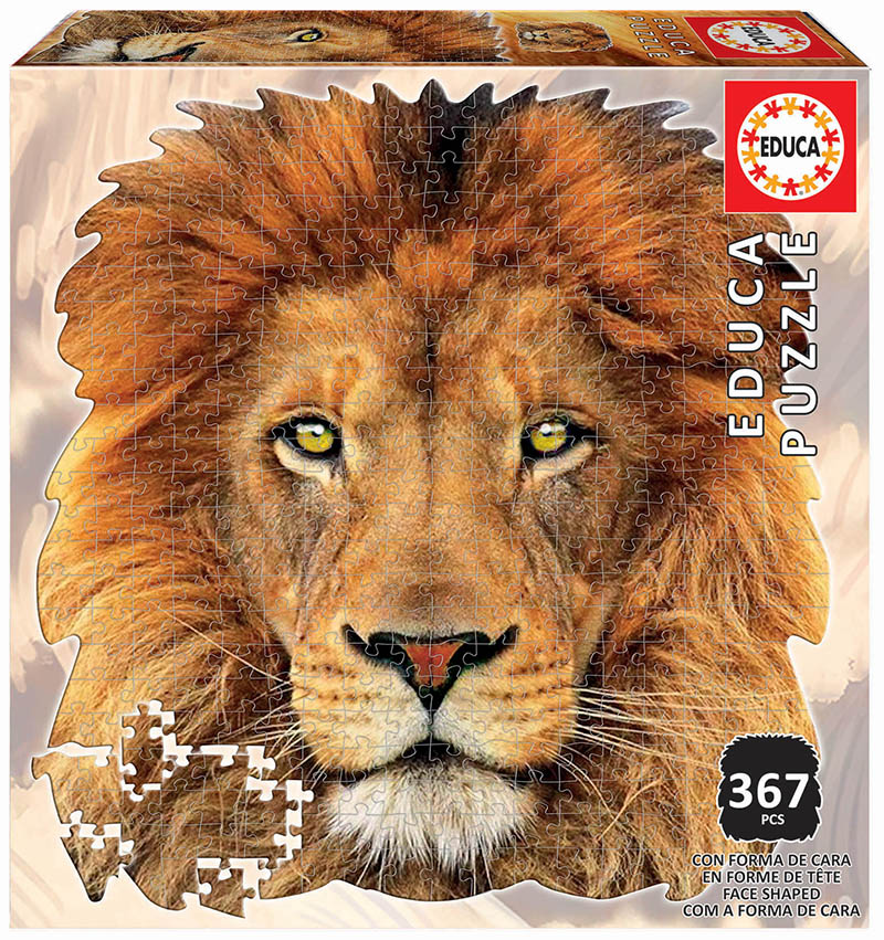 367 Lleó ´Animal Face Shaped Puzzle´