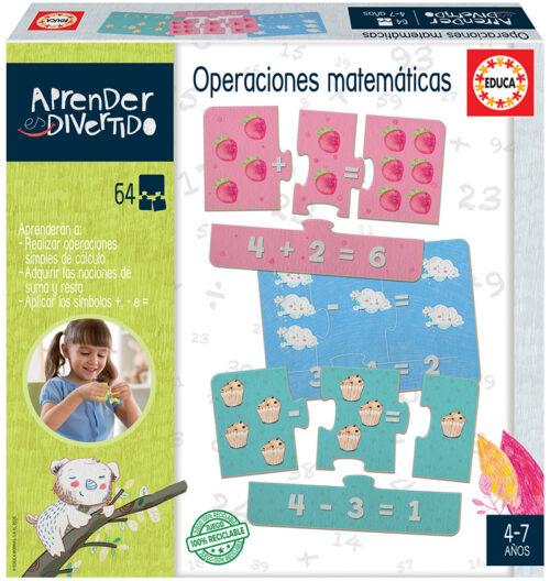 Aprender es Divertido Operaciones matemáticas
