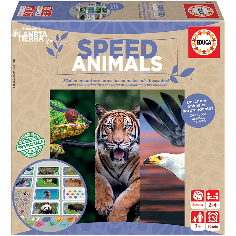 Planeta Tierra Speed Animals