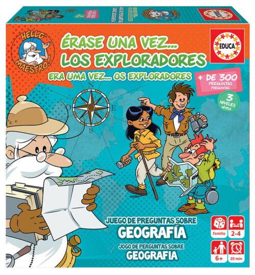 Érase Una Vez… Los Exploradores (Geografía)