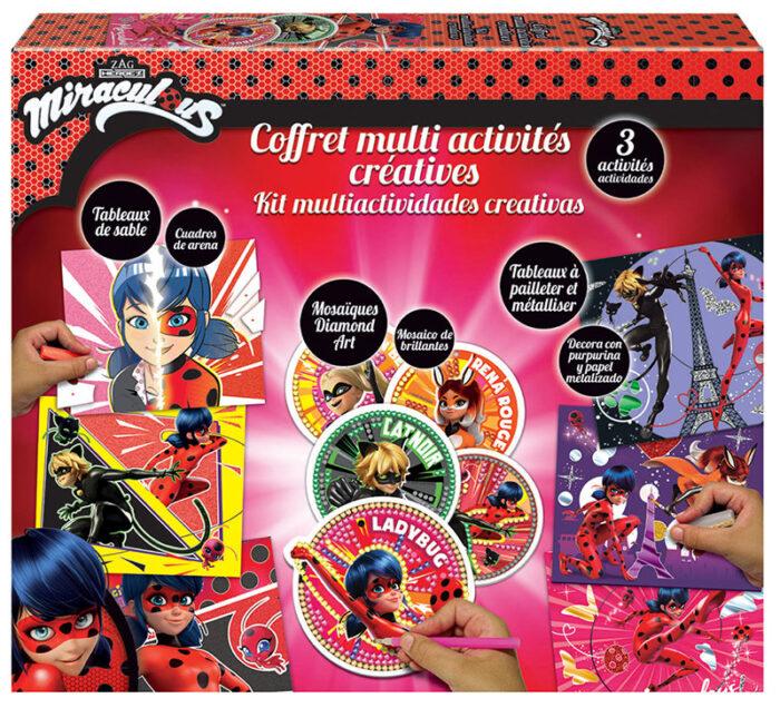 Kit Multi-actividad Miraculous Ladybug