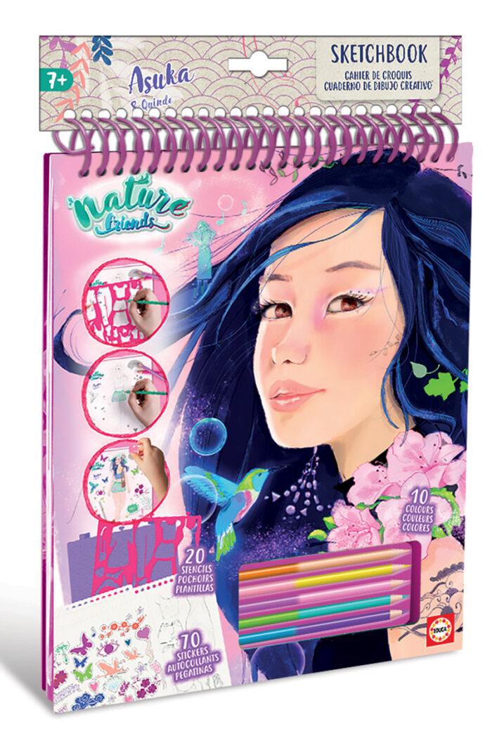 Cuaderno creativo Asuka Nature Friends