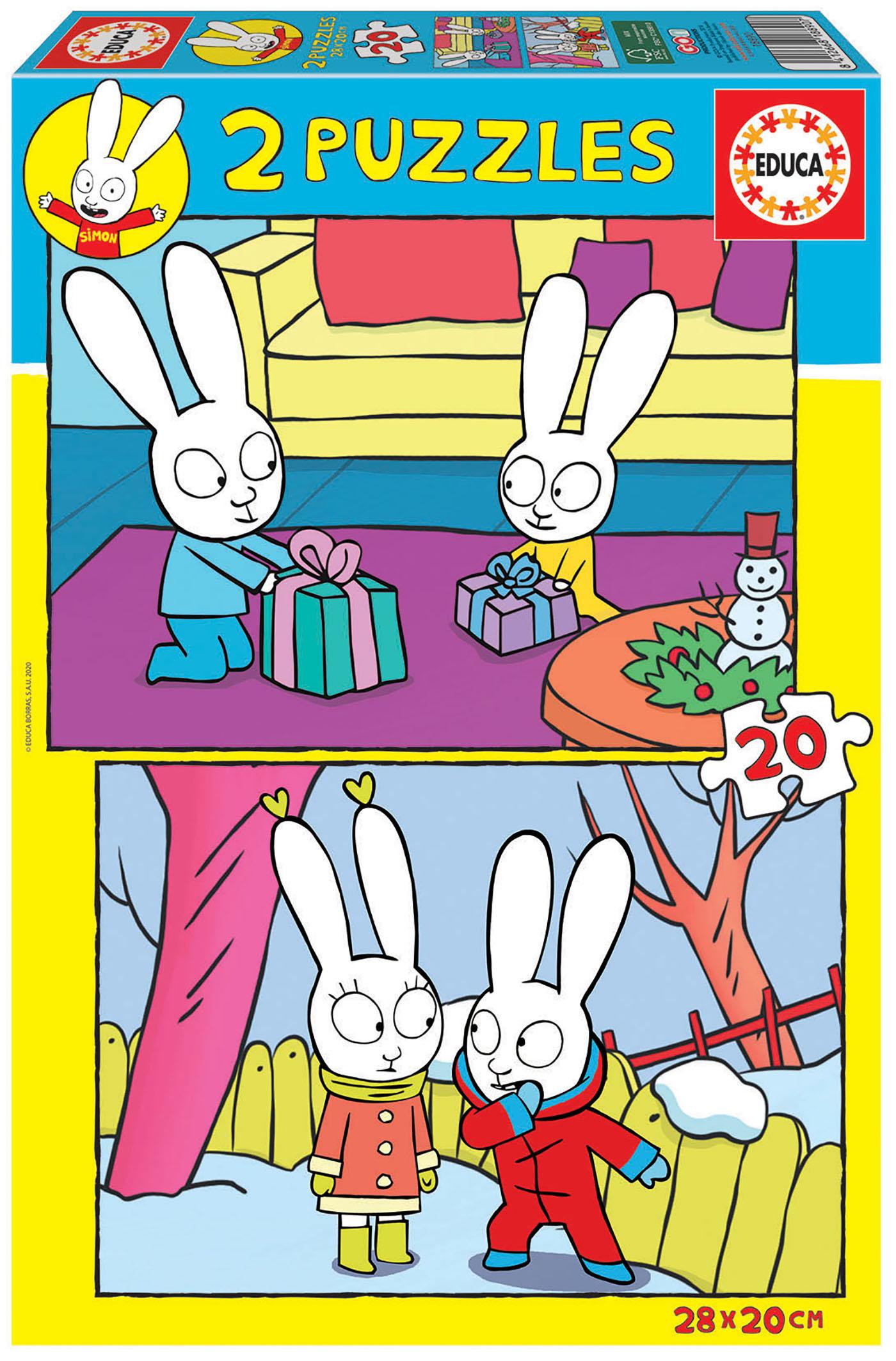2×20 Simon el Conejo