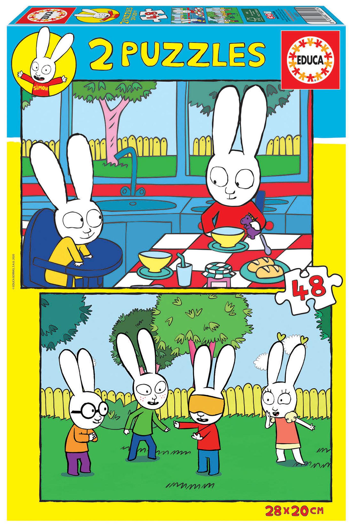 2×48 Simon el Conejo