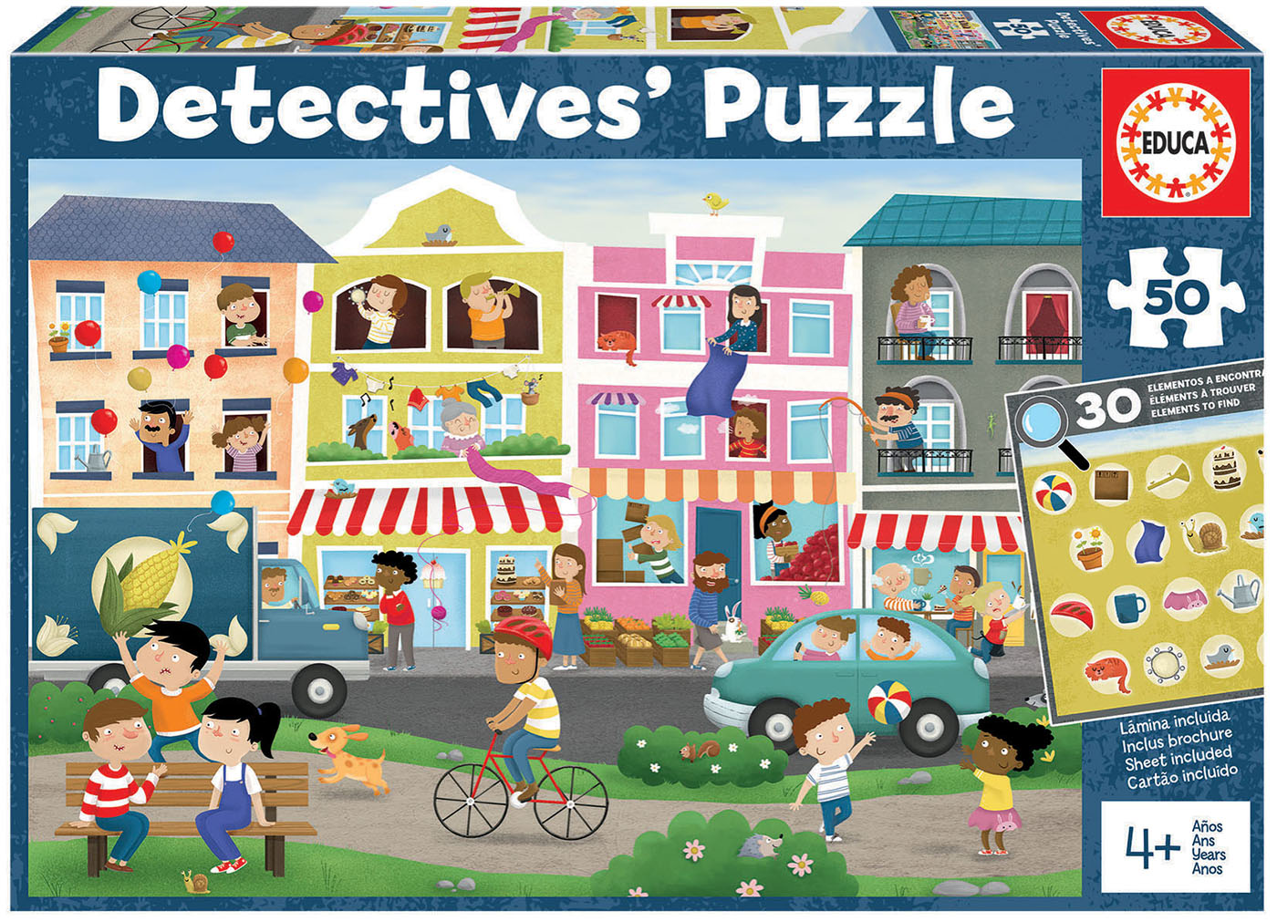 """50 Busy Town """"Detectives´ Puzzle"""""""