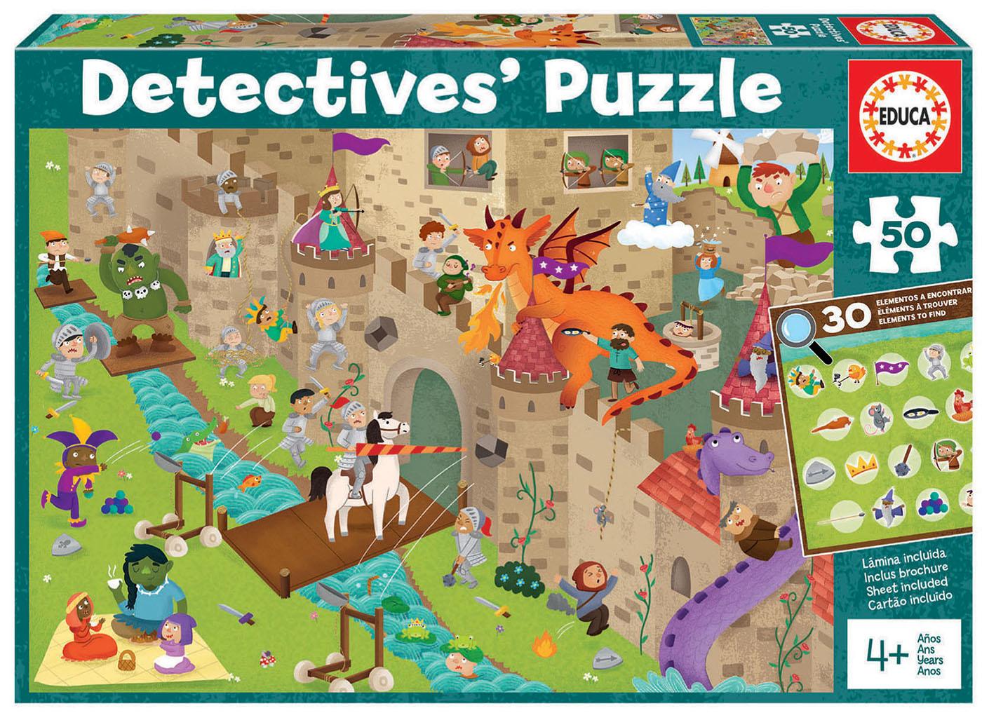 50 Castillo «Detectives´ Puzzle»