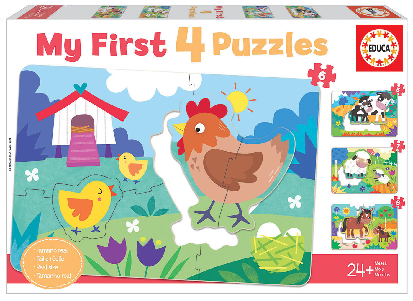 Maes e Bebés My First Puzzles