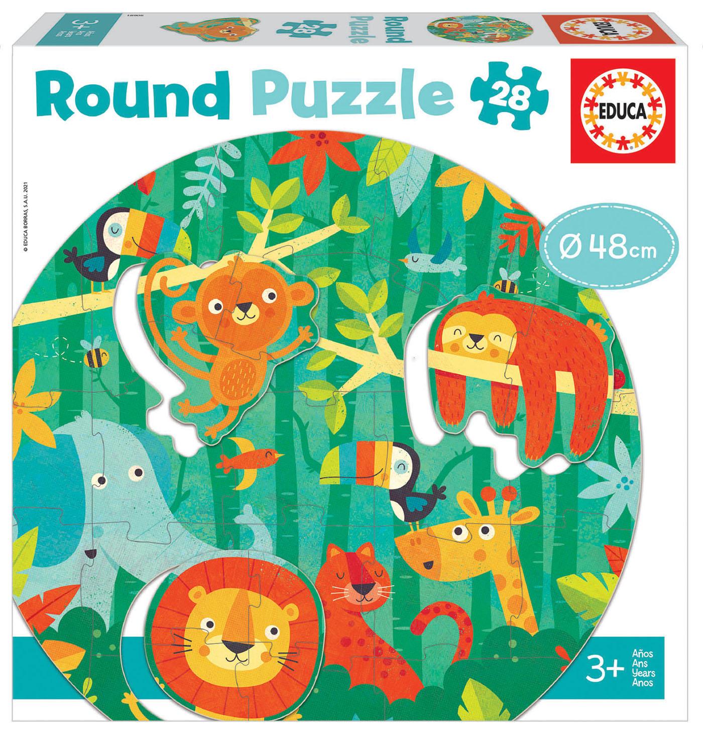 28 A selva Round Puzzle