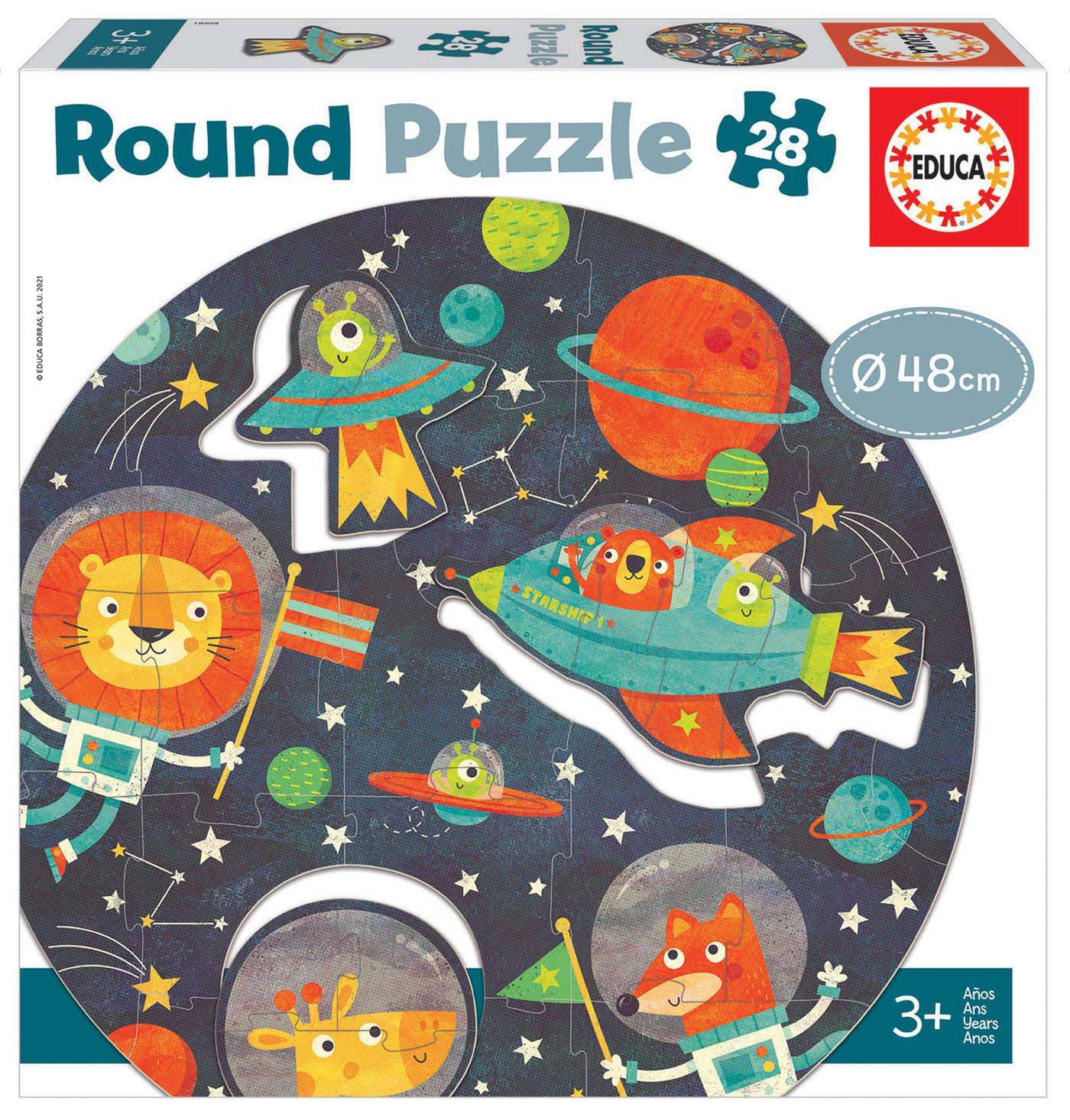28 El Espacio Round Puzzle