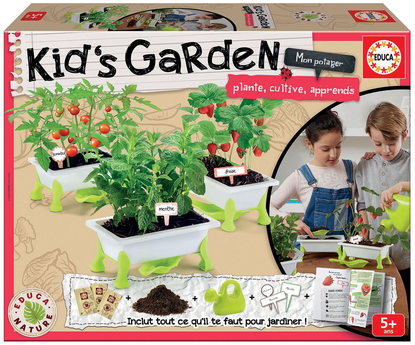 Kids Garden tomates + fraises + menthe
