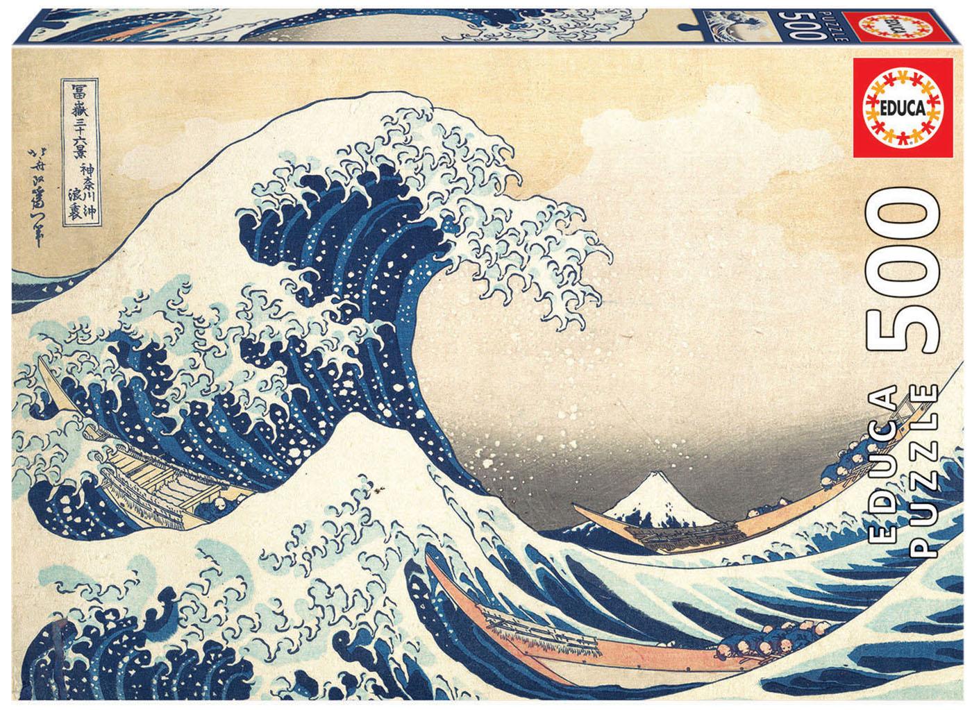 500 La Gran Ola de Kanagawa
