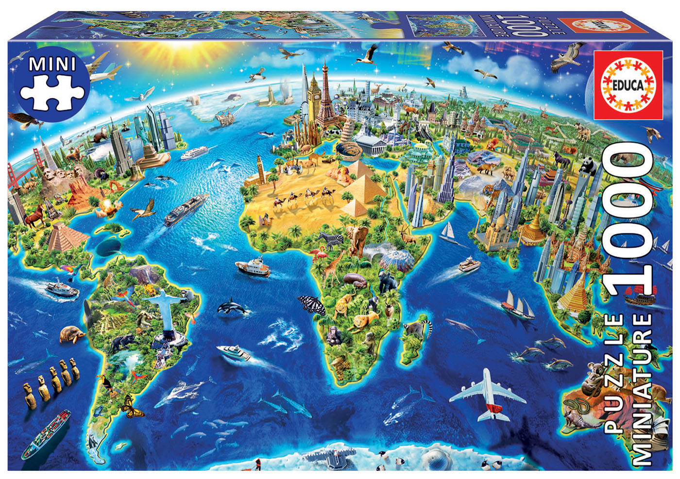 1000 Símbolos del Mundo Miniature