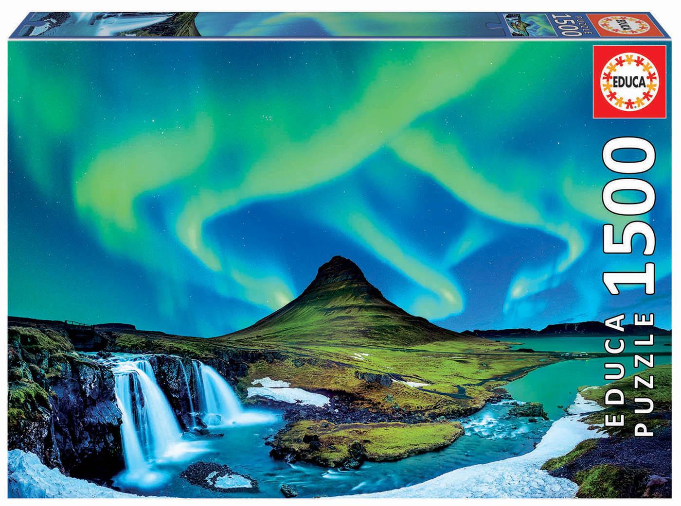 1500 Aurore boréale, Islande