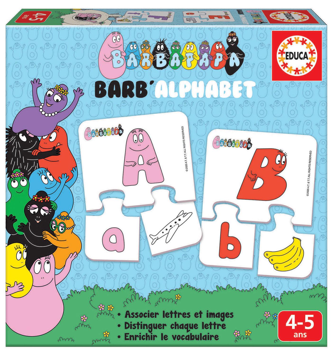 Barb'alphabet