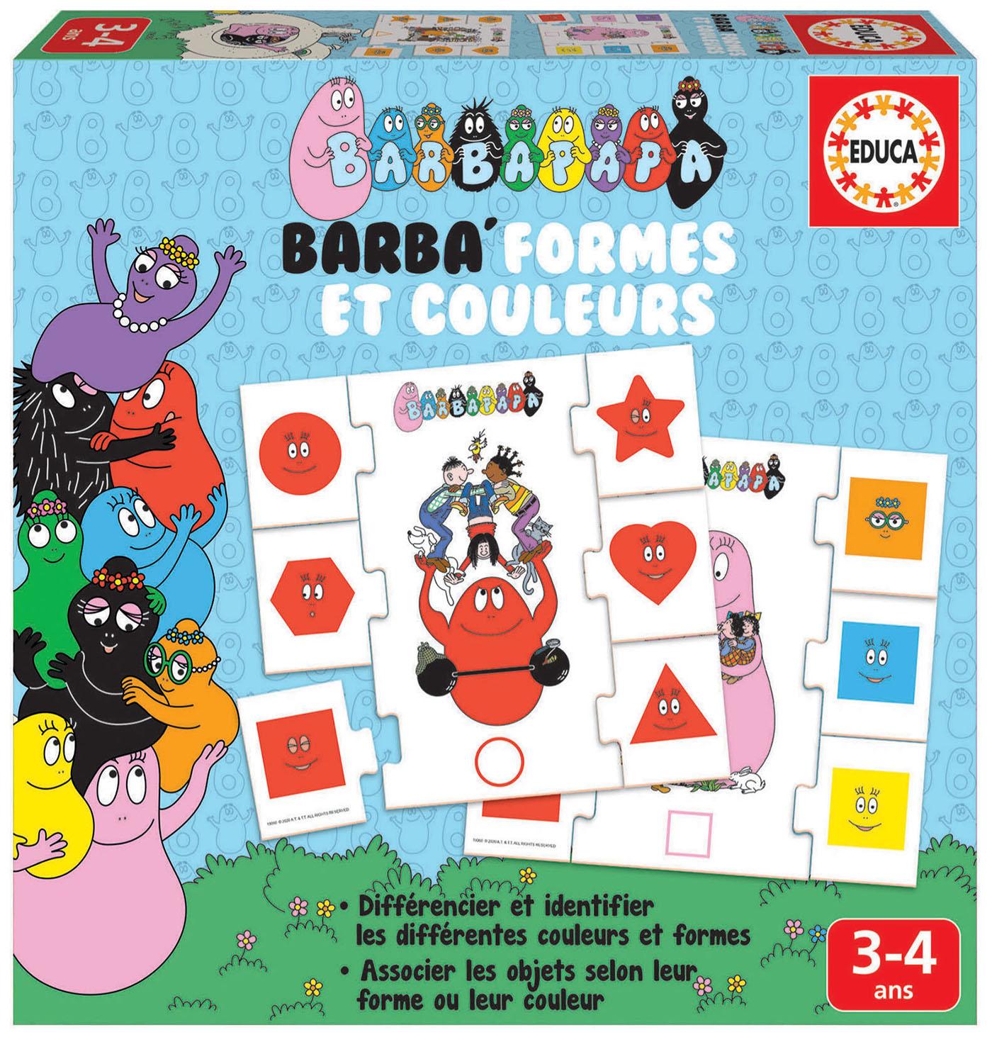 Barba'formes et couleurs