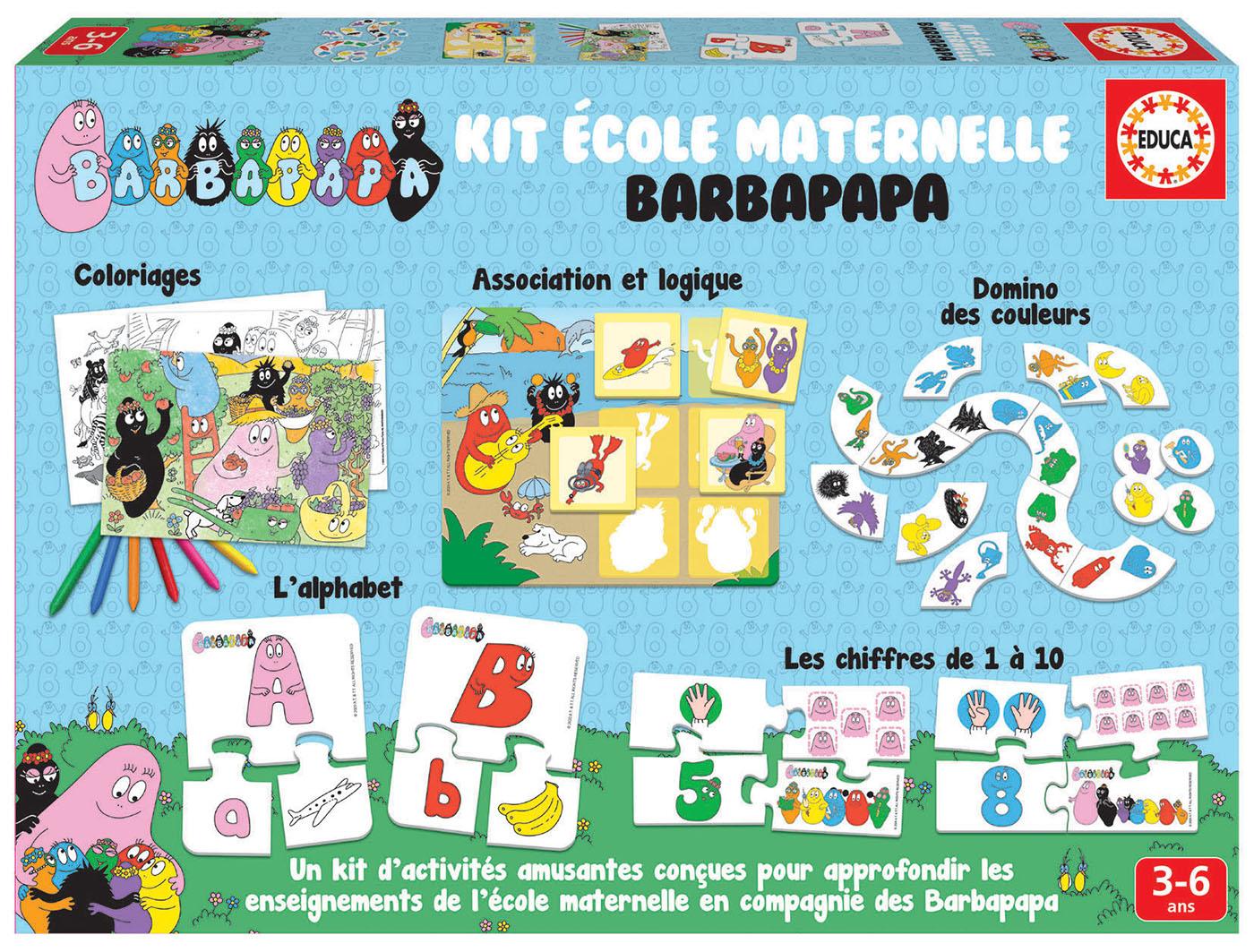 Kit ecole maternelle barbapapa