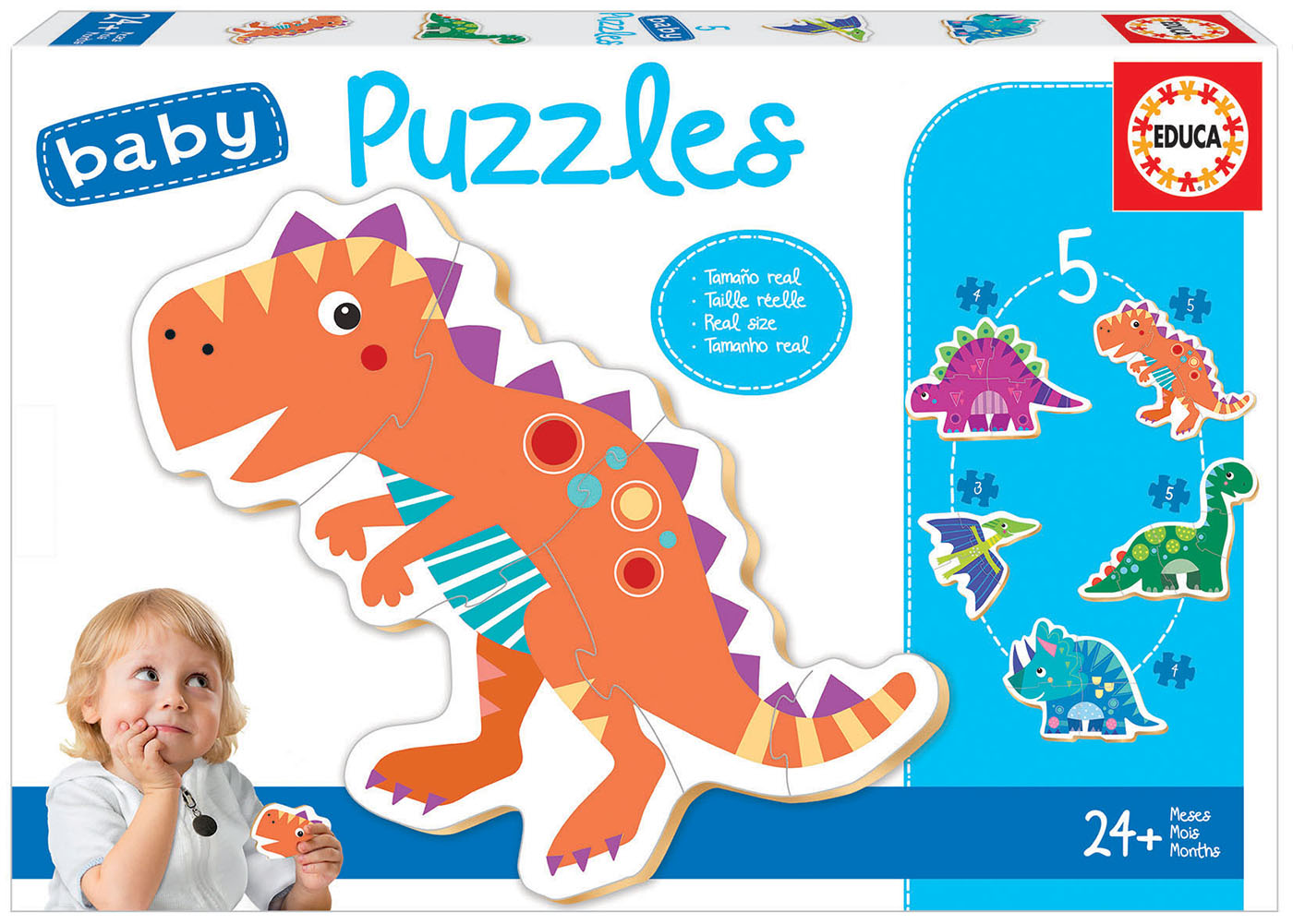 Baby Puzzles Dinosaurios