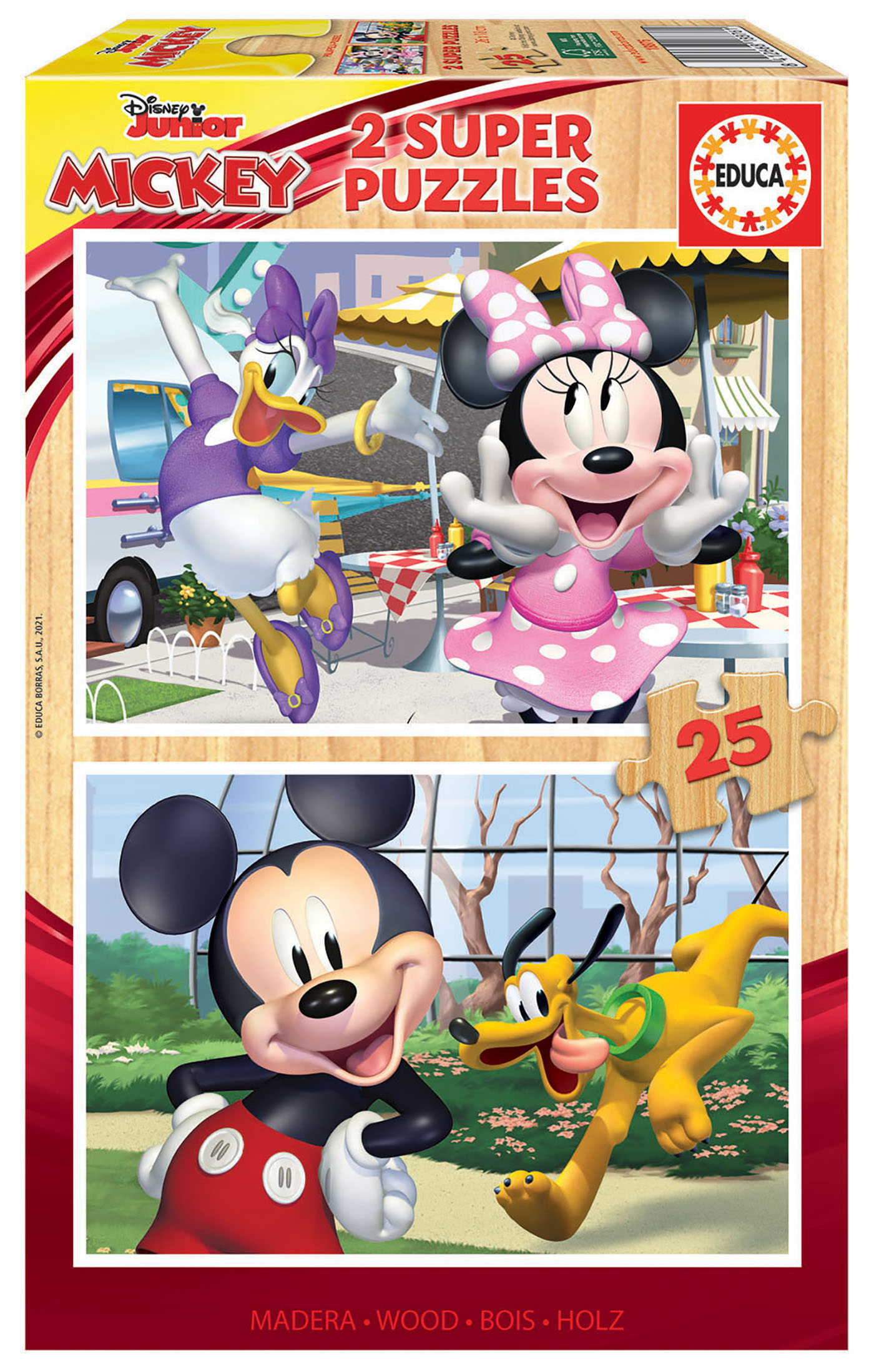 2×25 Mickey & Friends