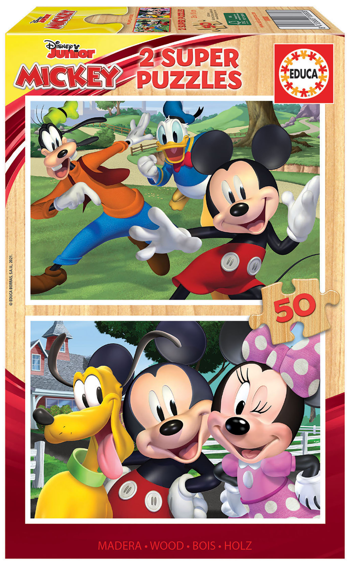 2×50 Mickey & Friends