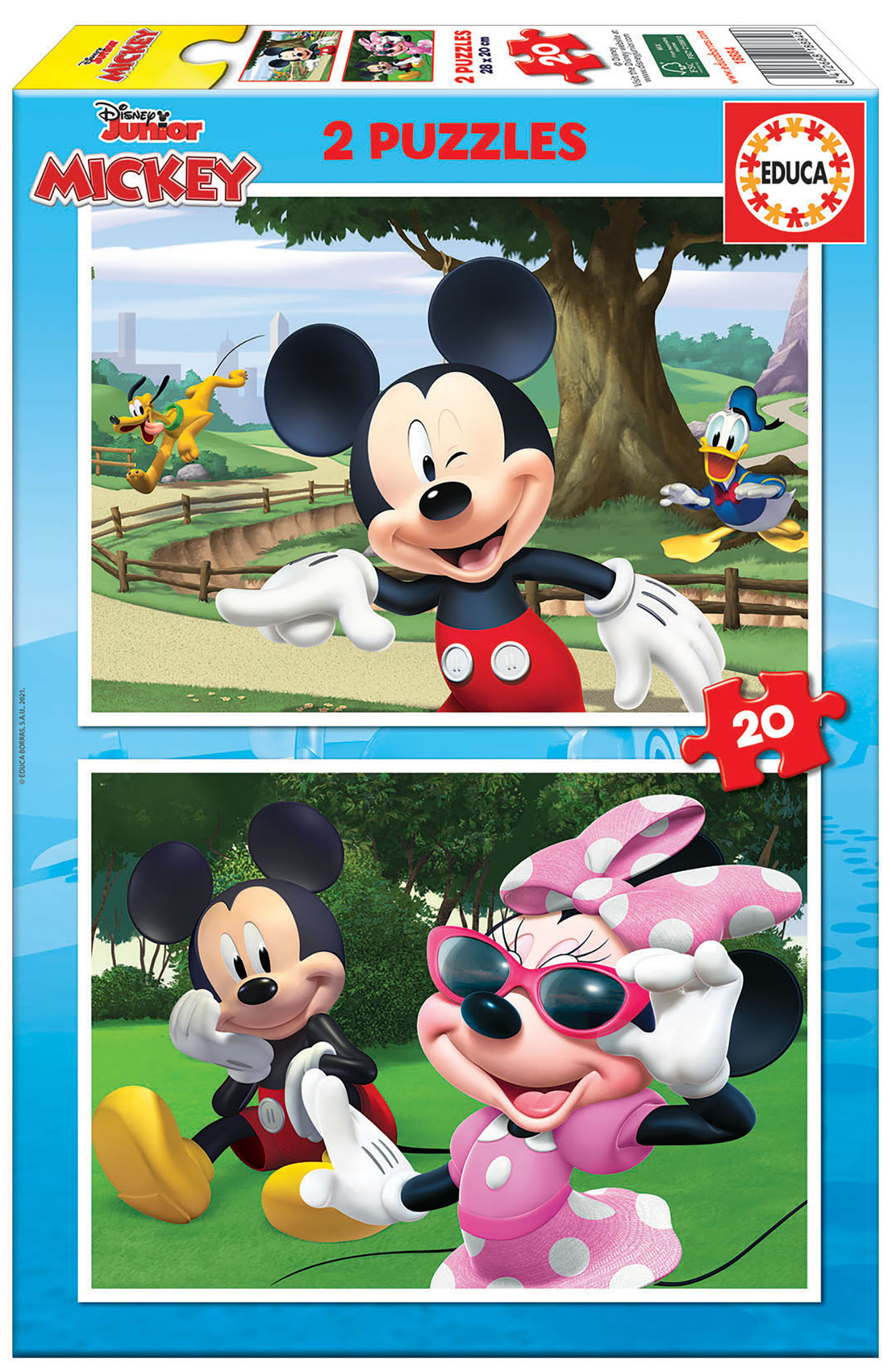 2×20 Mickey & Friends