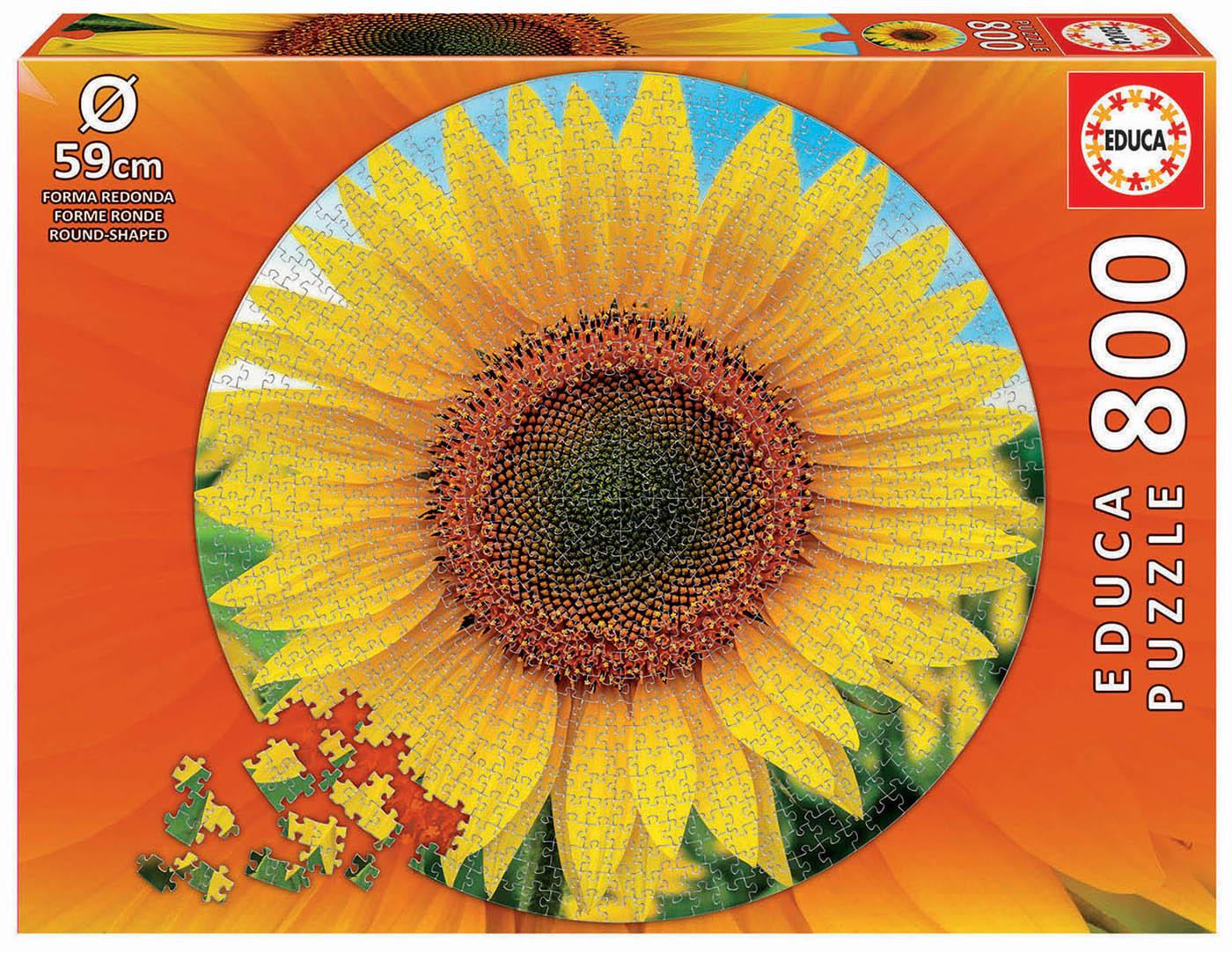 800 Girasol Round Puzzle