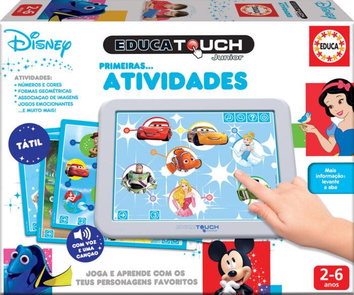 Educa Touch Junior Primeiras atividades Disney