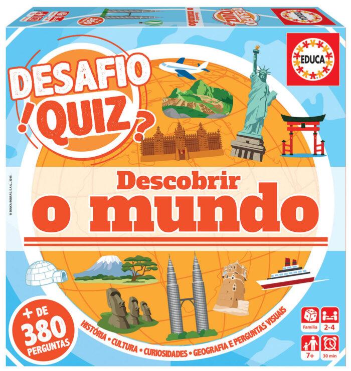 Desafio Quiz - Descobrir O Mundo