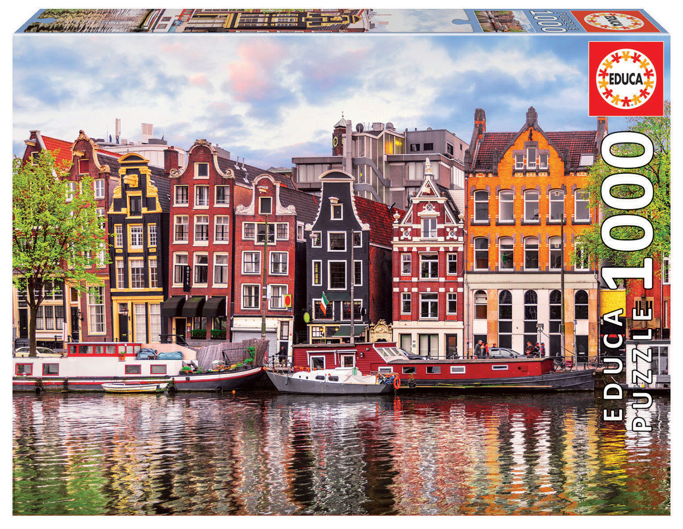 1000 Casas danzantes, Ámsterdam